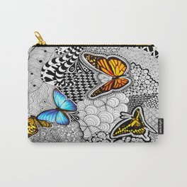 Tangled Butterfly Carry-All Pouch
