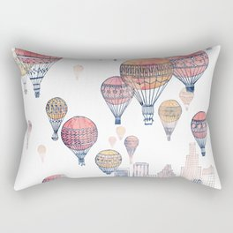 Voyages Over Santa Monica ~ Refresh Rectangular Pillow