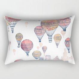 Voyages Over Santa Monica ~ Refresh Rectangular Pillow