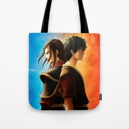 Azula and Zuko Tote Bag