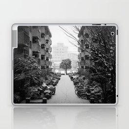 Snowy Day, Kyoto Laptop & iPad Skin
