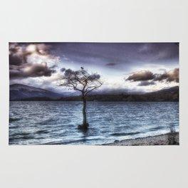 Sunset Tree Rug