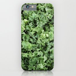 Shredded kale iPhone Case