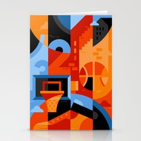 basketball Stationery Cards featuring Basketball by koivo