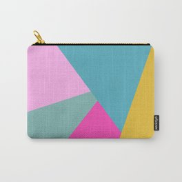 Geometric Color Block #11 Brights Carry-All Pouch