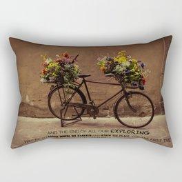 Bicicletta Rectangular Pillow