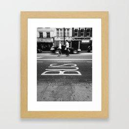 Shoreditch Framed Art Print