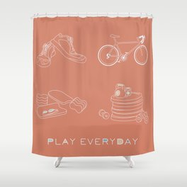 Play Everyday Shower Curtain