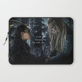 """Clexa: """" I will always be with you"""" Laptop Sleeve"""