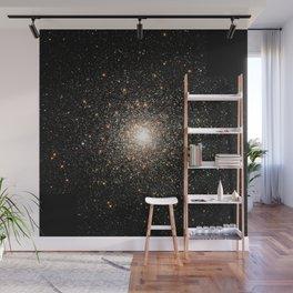NASA Telescope View Of Globular Cluster of Stars Night Sky Astronomy Space Wall Mural