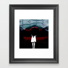 Heaven Is Perfect For Hell Framed Art Print