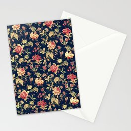 Shabby Floral Print Stationery Cards