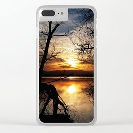 Release The Day Clear iPhone Case
