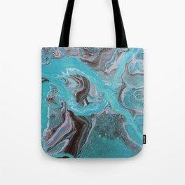 Slip and Slide Tote Bag