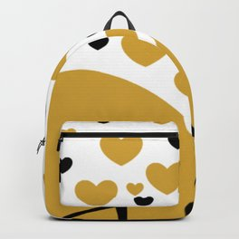 Love is Gold Backpack