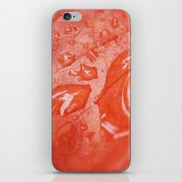 Orange leaf iPhone Skin
