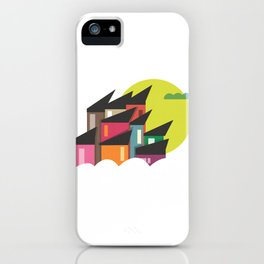 Houses of Colors iPhone Case