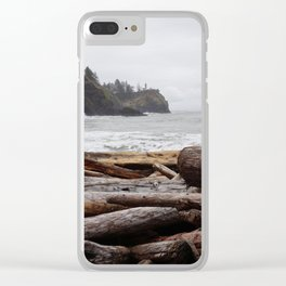 Cape Disappointment Clear iPhone Case