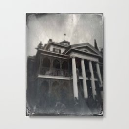 Haunted Mansion by Topher Adam 2017 Metal Print