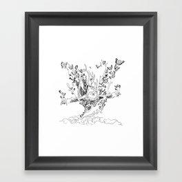 Wanderlust Series - Monkey Framed Art Print