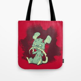 Zombie Mouse Tote Bag