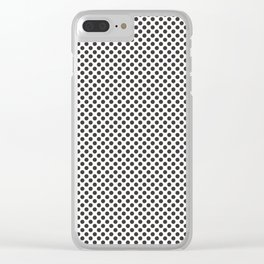 After Dark Polka Dots Clear iPhone Case