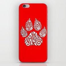 Tribal Tiger Paw iPhone & iPod Skin