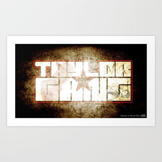 Taylor gang Art Print