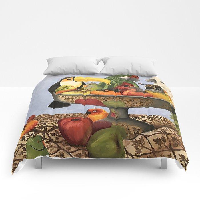 Bird Still Life Comforters