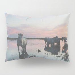 Camargue Horses IV Pillow Sham