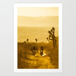 ON A MISSION Art Print