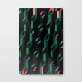 Serpentinas Metal Print