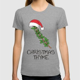 Cute Christmas Thyme Herb and Spice Holiday Gift Shirt T-shirt