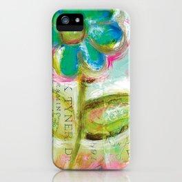 Le Bleuet iPhone Case
