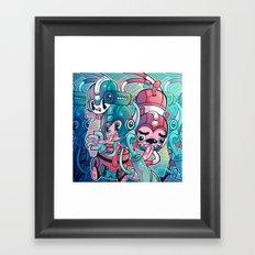 MegaPals Framed Art Print