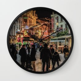 Light in the Night Wall Clock