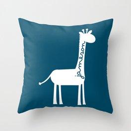 Custom Name Nursery Pillow Throw Pillow