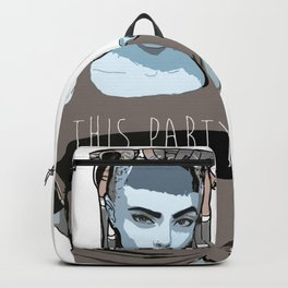 This Party Sucks Backpack
