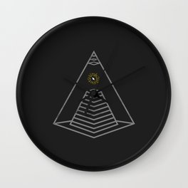 Technology Over All Wall Clock