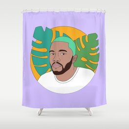 DRMLVR- FrankOcean Shower Curtain