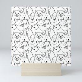 Oh Samoyed Mini Art Print