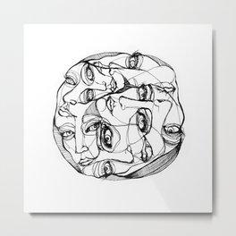 Multiple Personalities  Metal Print