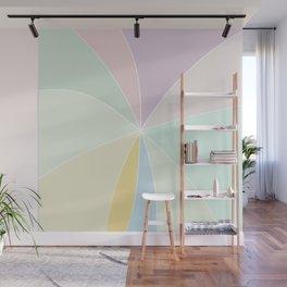 MarshMallow Pastel Shades Wall Mural