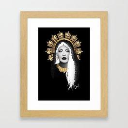 Saint Christina Framed Art Print