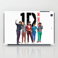 one direction iPad Cases featuring One Direction by Marianna