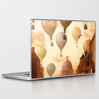 voyage Laptop & iPad Skins featuring Voyage to the Unkown by Diogo Verissimo