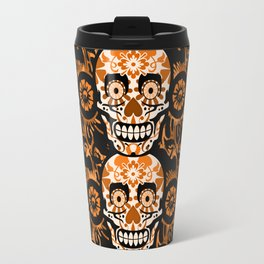 Halloween Calaveras Travel Mug