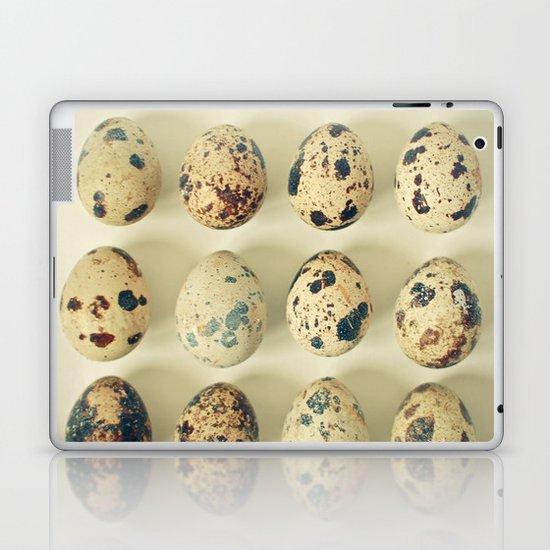 Quail Eggs Laptop & iPad Skin