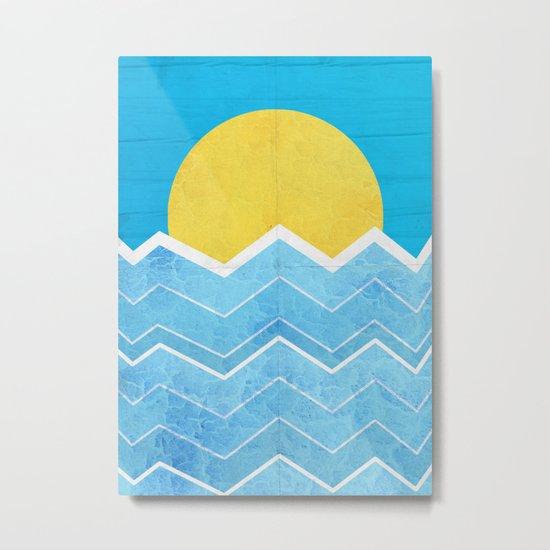 Summer Sea's Metal Print