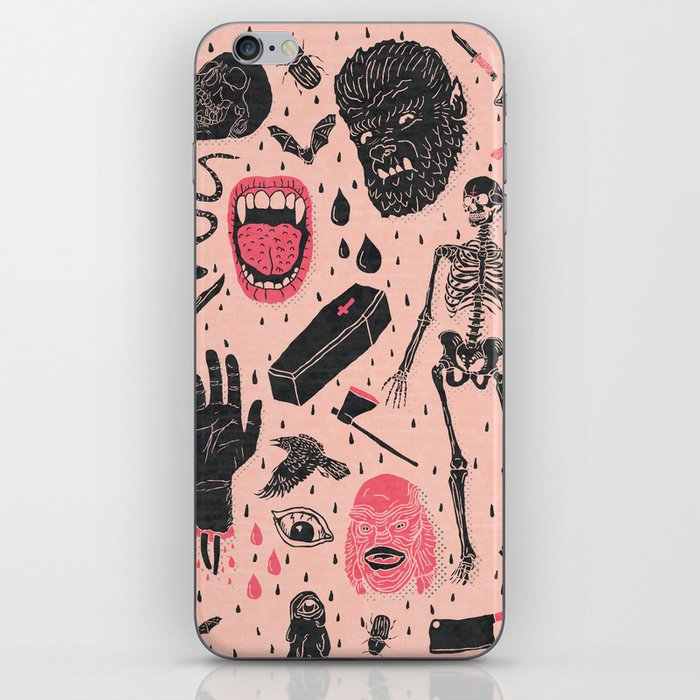 Whole Lotta Horror iPhone Skin